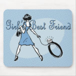 Girl's Best Friend Mouse Pad