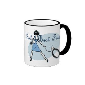 Girl's Best Friend Mugs