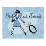 Girl's Best Friend Postcards