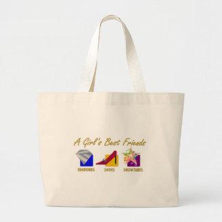 Girl's Best Friends Tote Bag