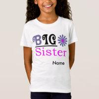 Girls' Big Sister Sportswear Fine Jersey T-Shirt
