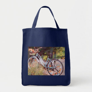Girls Bike Tote Bag