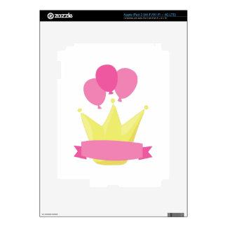 Girls Birthday Banner iPad 3 Decal