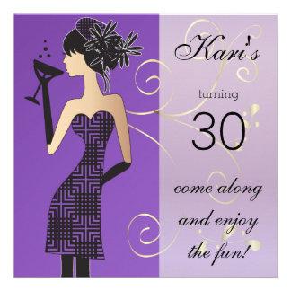 Girls Birthday or Bachelorette Bash Custom Invitation