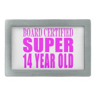 Girls Birthdays B Cert Super Fourteen Year Old Belt Buckles
