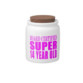 Girls Birthdays B Cert Super Fourteen Year Old Candy Jars