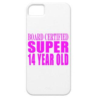 Girls Birthdays B. Cert. Super Fourteen Year Old iPhone 5 Covers