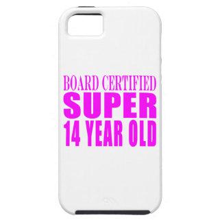 Girls Birthdays B Cert Super Fourteen Year Old iPhone 5 Case