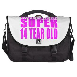 Girls Birthdays B Cert Super Fourteen Year Old Computer Bag