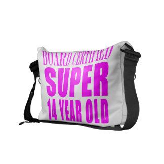 Girls Birthdays B Cert Super Fourteen Year Old Messenger Bags