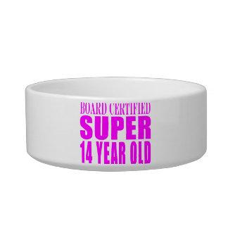 Girls Birthdays B Cert Super Fourteen Year Old Cat Food Bowl