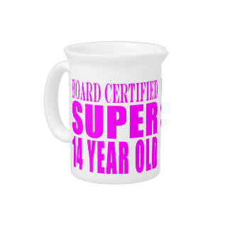 Girls Birthdays B Cert Super Fourteen Year Old Drink Pitchers