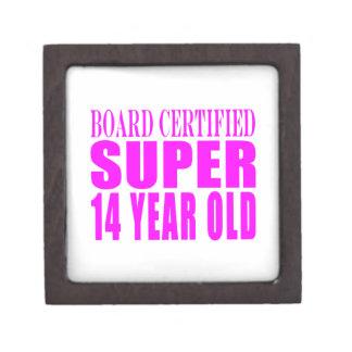 Girls Birthdays B Cert Super Fourteen Year Old Premium Gift Box