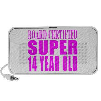 Girls Birthdays B Cert Super Fourteen Year Old Mini Speaker