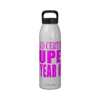 Girls Birthdays B Cert Super Fourteen Year Old Reusable Water Bottle