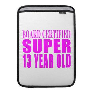 Girls Birthdays B. Cert. Super Thirteen Year Old MacBook Sleeve
