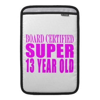 Girls Birthdays B. Cert. Super Thirteen Year Old Sleeve For MacBook Air