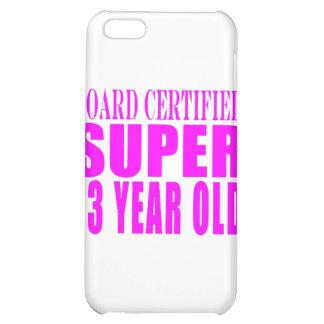 Girls Birthdays B. Cert. Super Thirteen Year Old Case For iPhone 5C