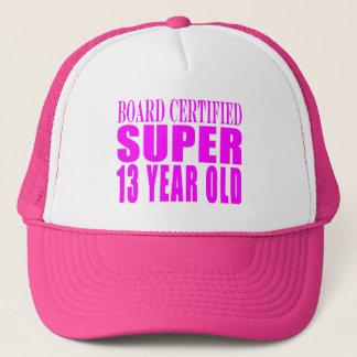 Girls Birthdays B. Cert. Super Thirteen Year Old Trucker Hat