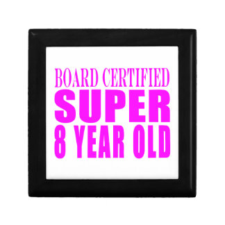 Girls Birthdays B. Certified Super Eight Year Old Gift Boxes