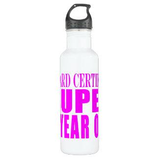 Girls Birthdays B. Certified Super Eight Year Old 24oz Water Bottle