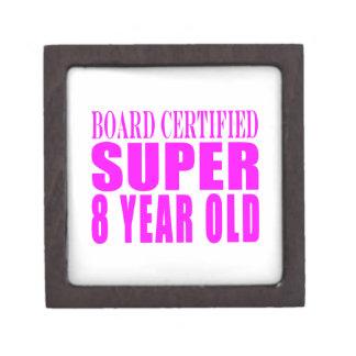 Girls Birthdays B. Certified Super Eight Year Old Premium Jewelry Box