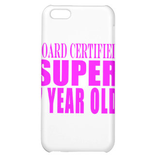 Girls Birthdays B. Certified Super Seven Year Old iPhone 5C Cover