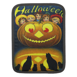 Girls & Black Cats Sleeve For iPads