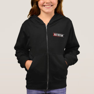 Girls' Black Hoodie with KGF Logo
