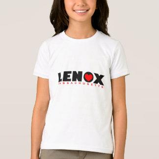 Girl's Black Luv Lenox© Tee