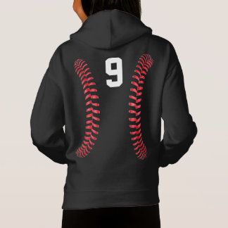 Girls Black & White Fastpitch Softball Sweatshirt