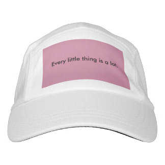 Girls/Boys, 'Cool Quote' Knit Hat, White & Pink Headsweats Hat