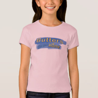 Girls' Butters Comes Home Title T-shirt - Pink