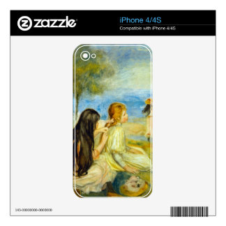 Girls by Pierre Renoir Skin For iPhone 4S