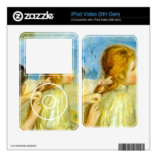 Girls by the Seaside by Pierre Renoir Decal For iPod Video 5G