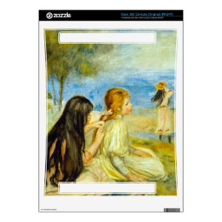 Girls by the Seaside by Pierre Renoir Xbox 360 Console Decals