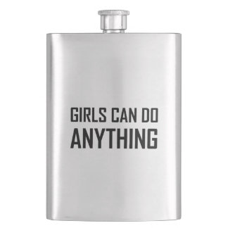 Girls Can Do Anything Flask