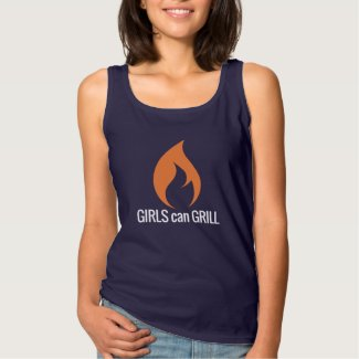 Girls Can Grill Tank