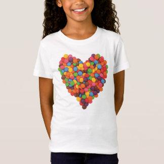 Girls Candy Heart T-shirt