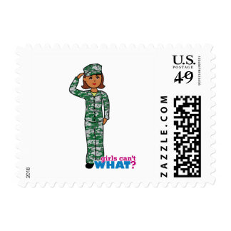 Girls Can't WHAT? Colorize Me Custom Designs Postage