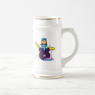 Girls Can't WHAT? ColorizeME Custom Design Beer Stein