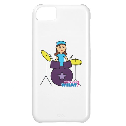 Girls Can't WHAT? ColorizeME Custom Design iPhone 5C Covers