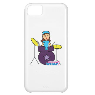 Girls Can't WHAT? ColorizeME Custom Design Case For iPhone 5C