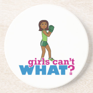 Girls Can't WHAT? ColorizeME Custom Design Beverage Coasters