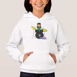 Girls Can't WHAT? ColorizeME Custom Design Hoodie