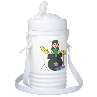 Girls Can't WHAT? ColorizeME Custom Design Igloo Beverage Cooler