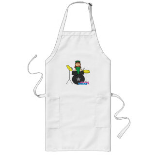 Girls Can't WHAT? ColorizeME Custom Design Long Apron