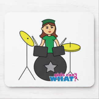 Girls Can't WHAT? ColorizeME Custom Design Mouse Pad