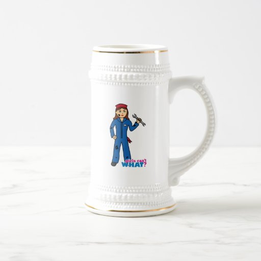 Girls Can't WHAT? ColorizeME Custom Design Coffee Mugs