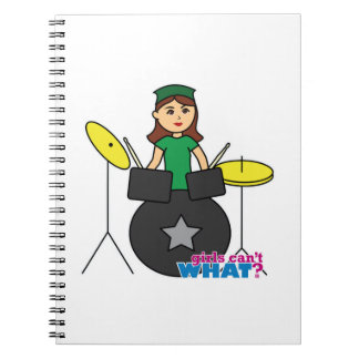 Girls Can't WHAT? ColorizeME Custom Design Notebook